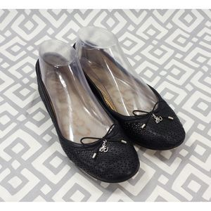 Sam Edelman Black Slip On Felicia Ballet Flats